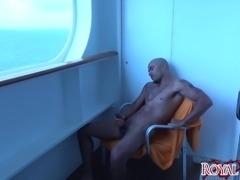 Boat Stroke GONZO BBC CUMSHOT