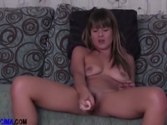 Horny Spanish Milf is feeling lonely and getsher hands on her best friend,...