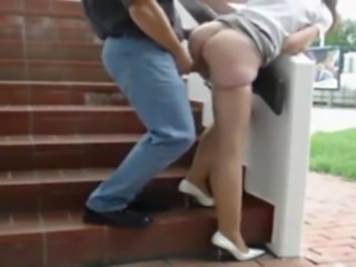 Outdoor Fuck From Behind