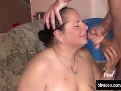 Busty german milf gets fucked