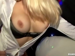 Wild girls getting banged by total strangers at a party
