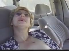 Granny fuck in the car R20
