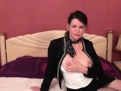 La Cochonne - Hot anal fuck with slutty mature French newbie
