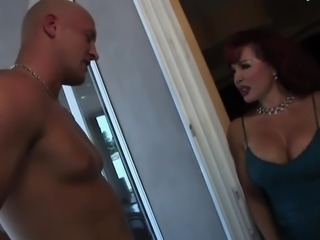 Anal for redhead mature in stockings (TOP MATURE)