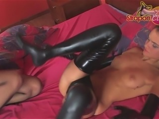 Kinky Girls. Part 1 of 4. Latex can make a girl super horny.
