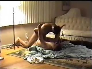 Wife fucks black stud husband films
