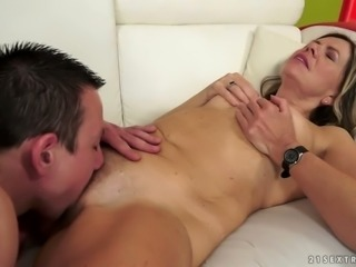Cecelia hoy sexy hair play on bed - 3 7