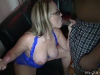 Cumslut Hotwife Sucking Strangers