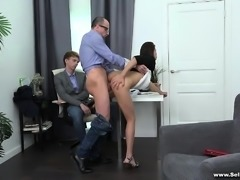 Sell Your GF - Fucked by the husband's boss