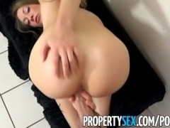PropertySex - Horny house flipping real estate agent fucks her handyman