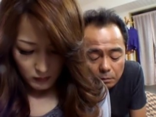 Nami Oumi  the Japanese slut gets a hot mature sex