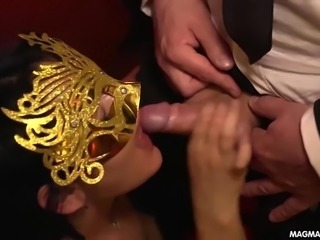 German Fetish Swinger Dinner