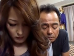 Nami Oumi  the Japanese slut gets a hot mature sex