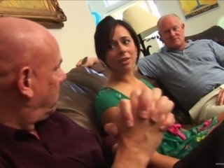 Horny Old Men Offer Cash To Aarelle Alexis For a Threesome
