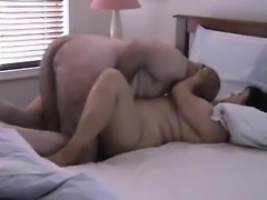Aged guy obtaining his adult spouse Pauli warm during sex