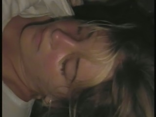 I came on my wife's lovely face while she was asleep