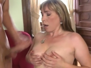 Hot milf and her younger lover 184