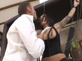 Lovely tattooed brunette Nikita Bellucci gets dominated by Franceska Jaimes...