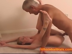 Teen Baby Sitter filled by a DADDY