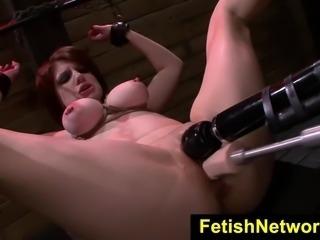 FetishNetwork Velma DeArmond bdsm gagged