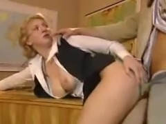 SB3 Schoolmistress Gives Him A Private Lesson !