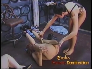 Beautiful slave girls embark on a journey through the den of