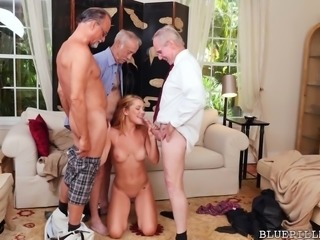 Frankie And The Gang Tag Team A Saleswoman