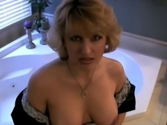 Sweet yummy mom with nice boobs & guy