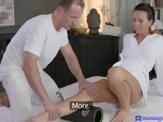 oh, this is going to go way beyond massage