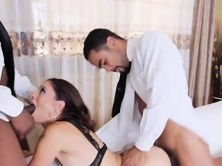 Sexy Mature Slut Eva Long Gets Spit Roasted