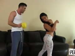 Fit Chick Roommate ALEXIS RAIN + LANCE HART
