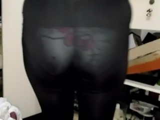Transparent see through leggings 60
