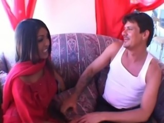 Sassy Indian girl seduces guy for hardcore sex