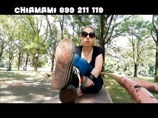 Soles in the park
