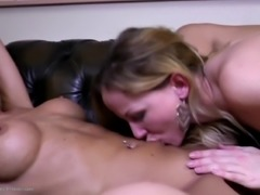 Moms grannies and girls at awesome lesbian group sex