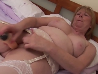 April's great desire is to lie down and enjoy the masturbation