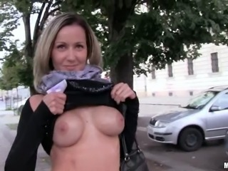 Hungarian Slut Fucked By Stranger For Lots Of Money