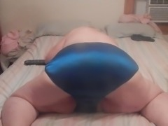 sexy ass wigle in dark blue panties 4u