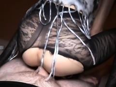 Petite Thai ladyboy Alice handjob blowjob and anal