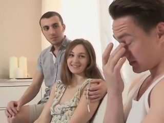 Broke fellow allows wacky mate to poke his ex-girlfriend for