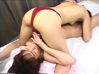 JPN Busty & Cougar Orgasm Strap On Pumping UNCENSORED