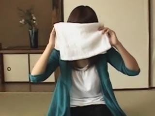 Do Not Try Entering A Bath Sheet Towel Man