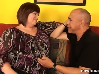 Chubby housewife Jezzebel Joli has a hung black man banging her peach