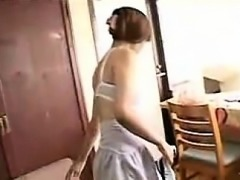 Provocative Japanese housewives sensually expose their love