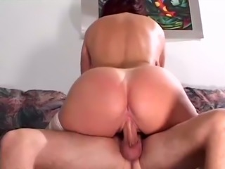 Mature slut riding big cock in dirty old and young fuck video