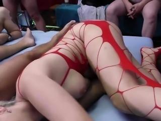 lederhosen groupsex fuck orgy