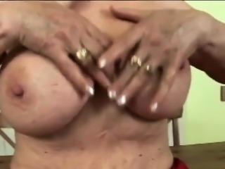 Big breast granny undressing wants dirty fucking