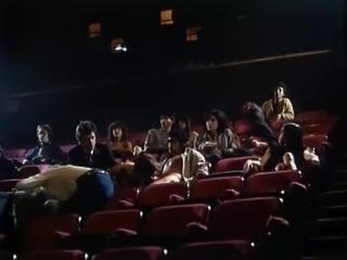Blowjob in the cinema.