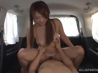 Delicious Asian Girl Gets Car Fucked Hard In A POV Video