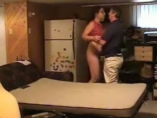 Cheating on my wife with hot neighbor chick at the basement